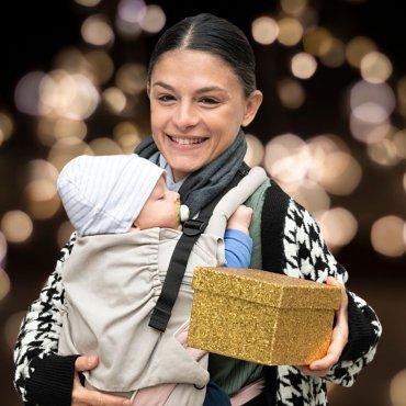 Pack Babyprodukte als Geschenk