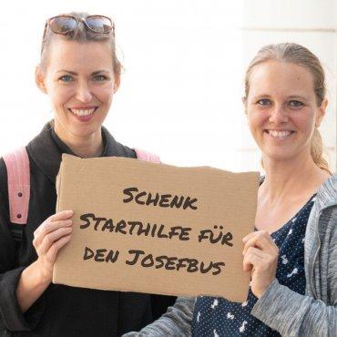 Schenk Starthilfe für den Josefbus