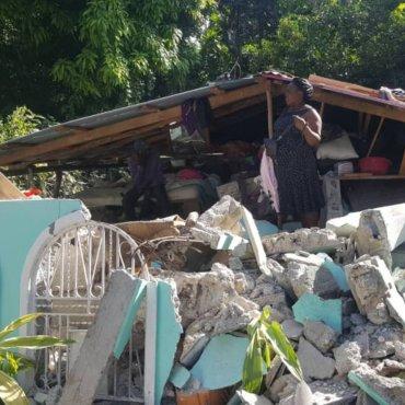 Unterstütze vom Erdbeben betroffene Familien in Haiti