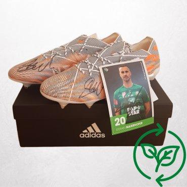 Signierte Fußballschuhe Adidas von Stefan Maierhofer - Carla Vintage x Fashion 4 Future