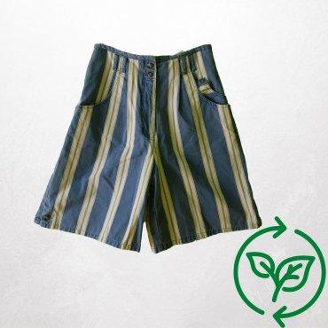 Gestreifte Shorts Vintage Carla Vintage x Fashion 4 Future