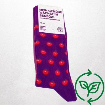 Socken Tomaten