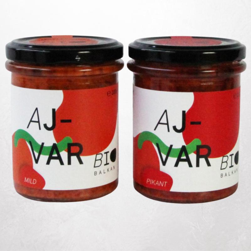 BioBalkan Aufstriche-Ajvar Pikant