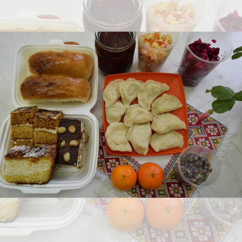 Produkte Spenden | Caritas Wien | Schenk ein Corona Hilfspaket für eine Familie in der Ukraine | Caritas Wirhelfen.shop