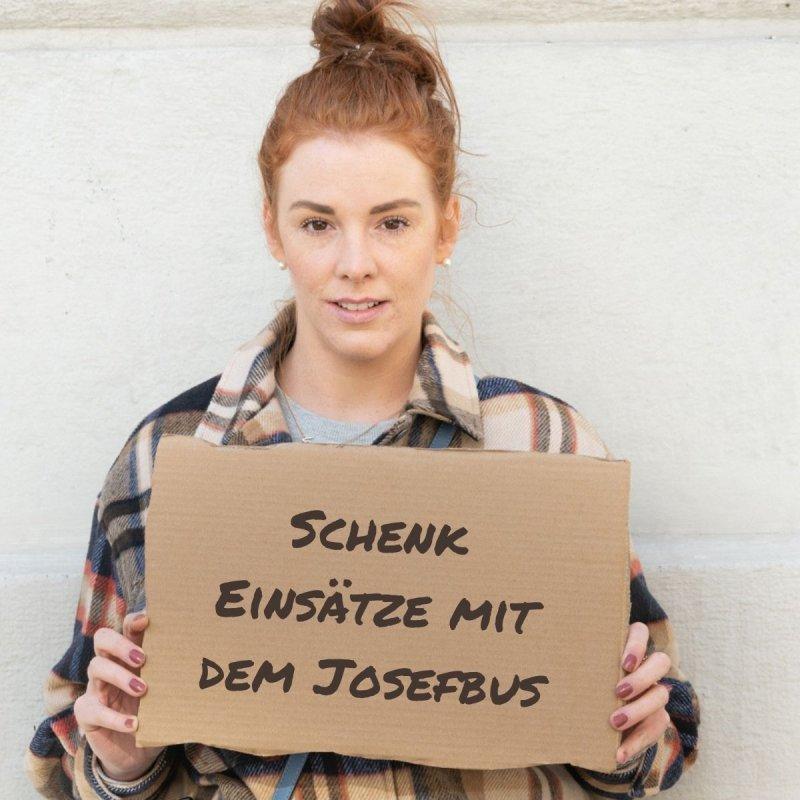 Produkte Spenden | Caritas Wien | Schenke Einsätze für den Josefbus | Caritas Wirhelfen.shop