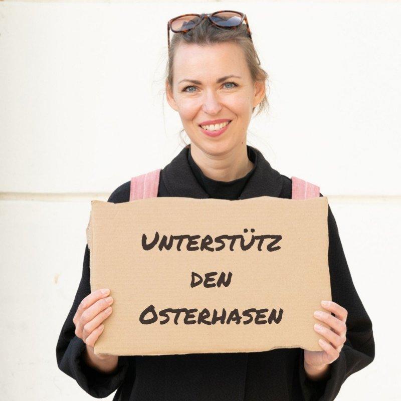 Produkte Spenden | Caritas Wien | Schenk Osterhasen für Kinder | Caritas Wirhelfen.shop