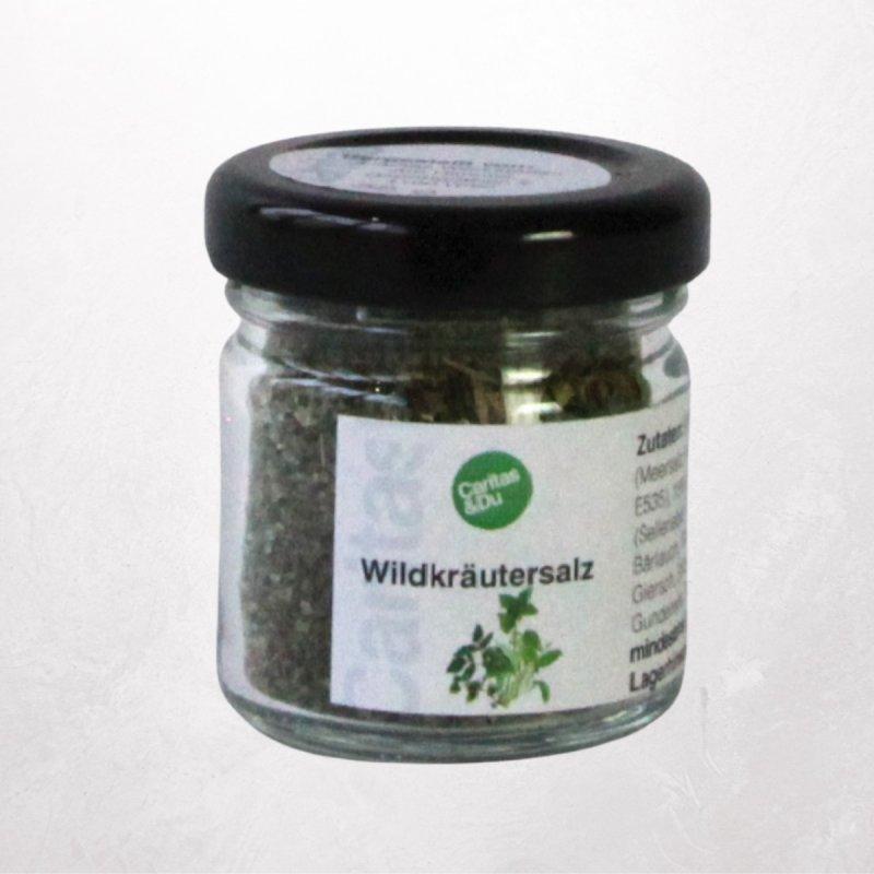 Wildkräutersalz